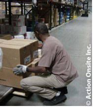 action onsite ergonomic employee observations